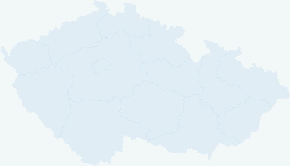 Mapa servisních míst